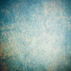 Blue rusty grunge background