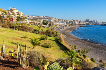Costa Adeje. Tenerife, Canary Islands, Spain