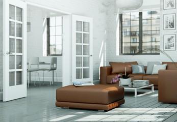 moderne Wohung Interieur Design