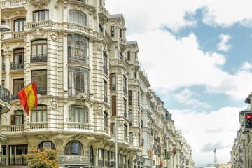 Gran Vía Street Madrid