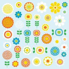 mod flowers