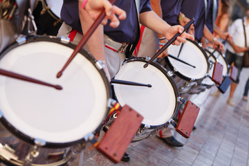 Drummers in Parade