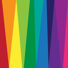 Rainbow vector pattern.