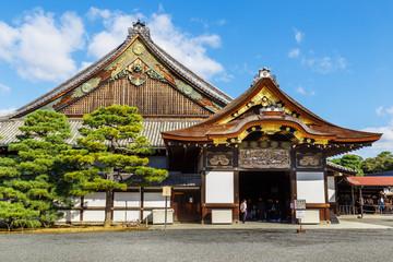 Nijo Castle in Kyoto Wall mural