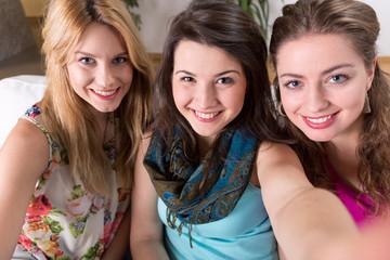 Smiling girls