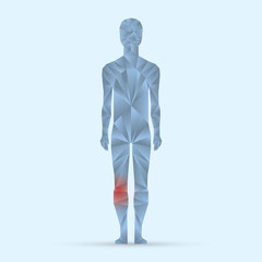 Body ache pain illustration