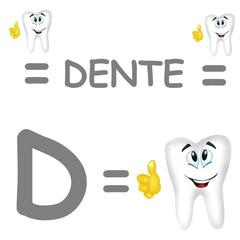 d dente