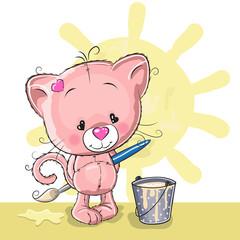 Artist Kitten