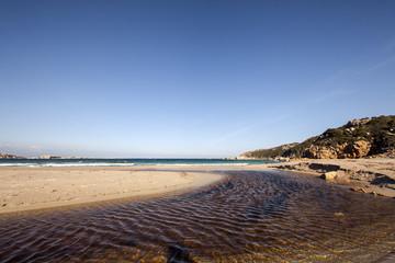 Sardegna: fiume e mare