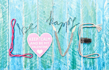 be happy love card