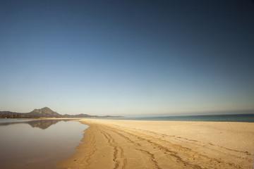 Lingua di sabbia in Sardegna