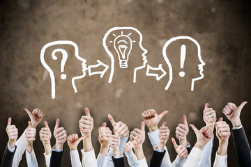 Kopf Business Ideen