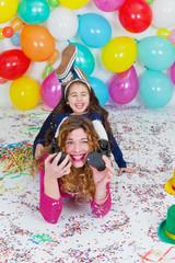 Fun-loving balloon