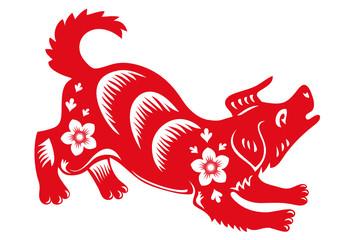 Chinese zodiac of dog