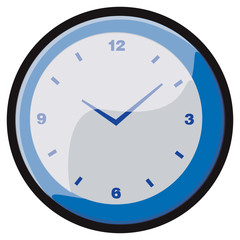 Blue Clock image