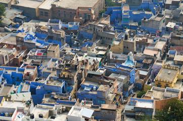 Famous blue city in Jodhpur