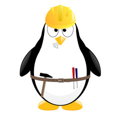 vector penguin