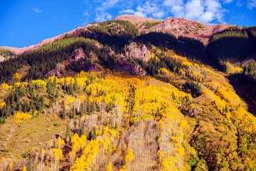 Wall Mural - Scenic Autumn Mountain