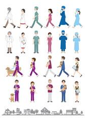 医者 / 看護士
