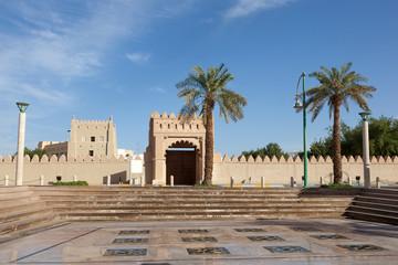 Square in the city of Al Ain, Emirate of Abu Dhabi, UAE