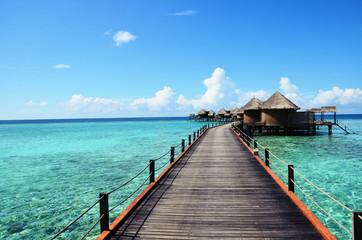 Obraz Malediwy - fototapety do salonu