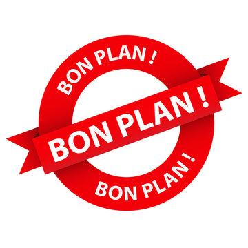 Tampon Publicitaire BON PLAN (bonnes affaires offres spéciales)
