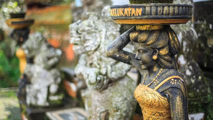 Statue in Pura ulun danu temple