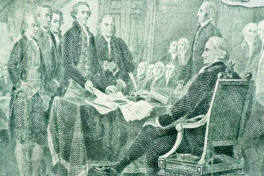 2 Dollar - Declaration of Independence