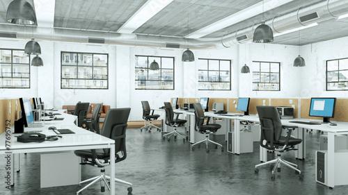Modernes büro design  modernes Büro im Loft