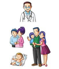 Small Family Set lifestyle