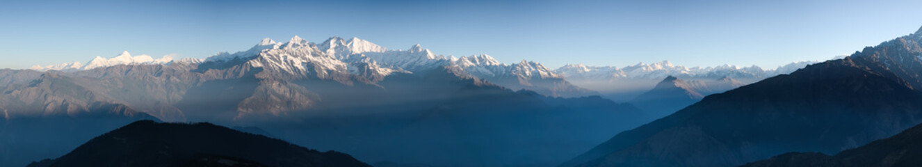 Photo sur Toile Népal The Himalayas