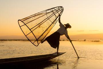 Birmania fishermen