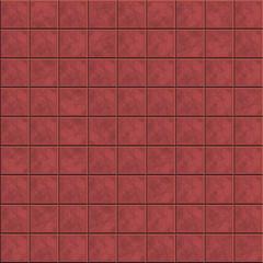 Brown tiled floor