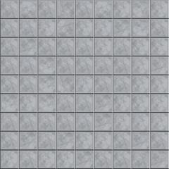 Grey tiled floor