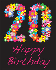 happy birthday twenty years