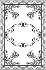 Victorian Ornate Page