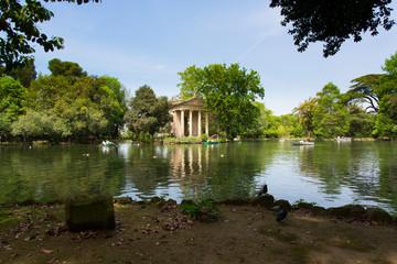 Esculapio temple - Borghese gardens