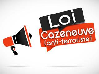mégaphone : loi cazeneuve