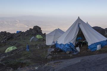 Morgenstimmung im Ararat-Basislager