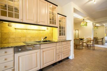Comfy kitchen interior