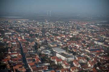 Luftaufnahme Ludwigshafen am Rhein