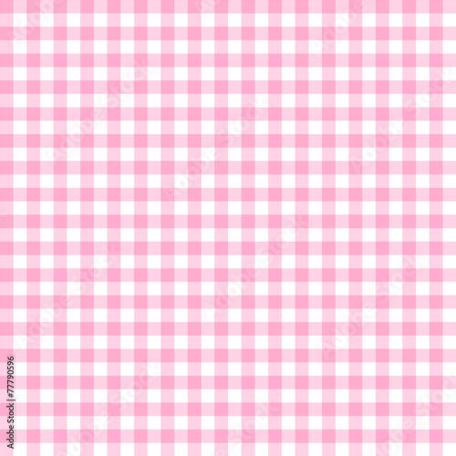 rosa karo tischdecken muster kariert stock image and. Black Bedroom Furniture Sets. Home Design Ideas