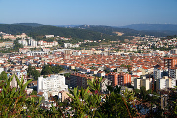 view on city Coimbra, Portugal