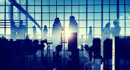 Business Professional Communication Office Cityscape Concept