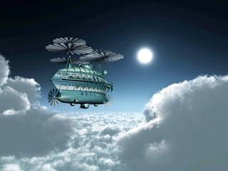 Fantasy Airship