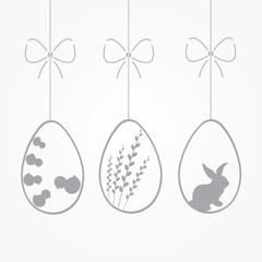 Obraz Wielkanoc, życzenia wielkanocne - fototapety do salonu