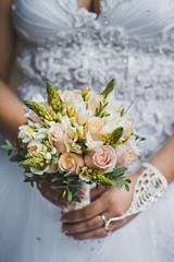 Bouquet in hands 1736.