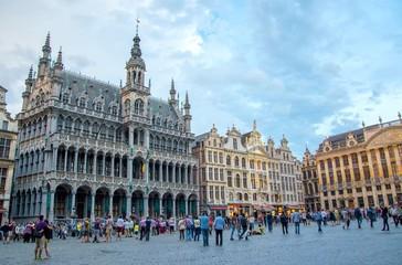 Fototapeten Brussel Grand Place, Brussels, Belgium