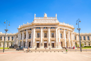 Aluminium Prints Vienna Burgtheater, Wien