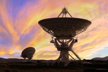 Picture of Radio Telescopes Fotoväggar